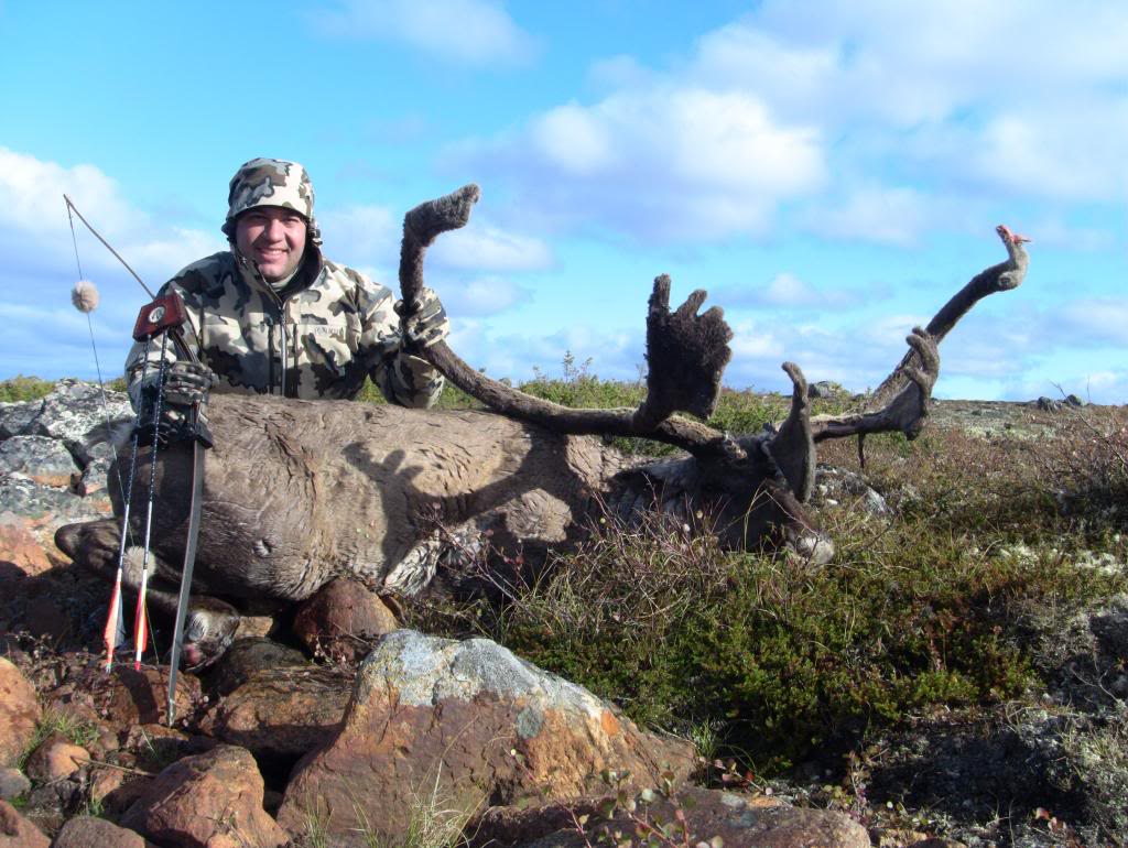 Caribou Hunt with longbow