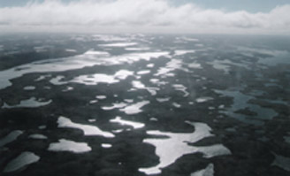Aerial of Lakes